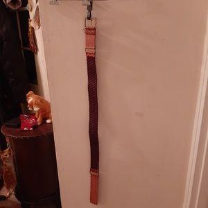 Wcm belt leather